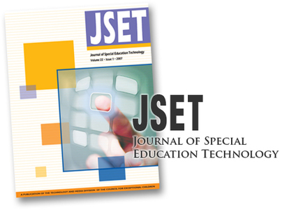 Journal of Special Education Technology | TAM | Technology and Media Division | Tecnologias de Apoio | Scoop.it