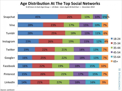THE SOCIAL DEMOGRAPHICS REPORT: A breakdown of who's on each of the different social networks | Movin' Ahead | Scoop.it