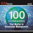 KMWorld 100 COMPANIES That Matter in Knowledge Management | Future Knowledge Management | Scoop.it