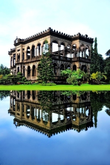 The Ruins of The Don Mariano Ledesma Lacson Mansion just outside Bacolod City Philippines   Exploration: Urban, Rural and Industrial   Scoop.it