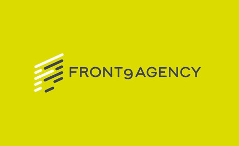 Front9Agency Logo Designed by The Logo Smith | Design | Scoop.it