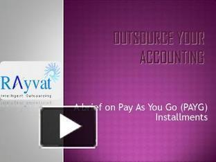 Advance Tax Payments Australia | Rayvat Accounting | Scoop.it