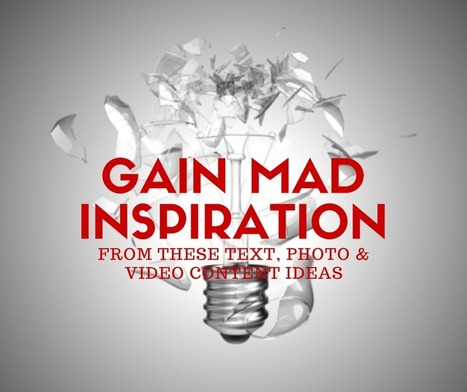 Gain MAD Inspiration From These Content Ideas | Surviving Social Chaos | Scoop.it