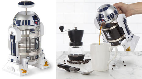The Best Part of Waking Up Is This R2-D2 Coffee Press | Coffee Makers | Scoop.it