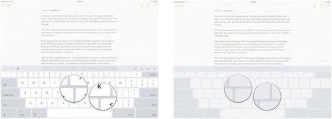 How to use the keyboard as a trackpad on your iPad | idevices for special needs | Scoop.it