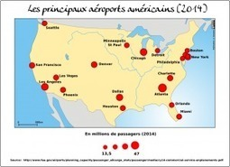 Les principaux aéroports américains (2014)   HG Sempai   Scoop.it