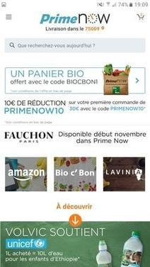 Amazon Prime Now change de dimension en devenant une marketplace | Le marché | Scoop.it