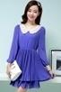 Beaded Pleated Chiffon Dress - OASAP.com | Oasap street fashion | Scoop.it