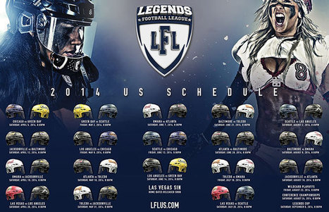 LFL USA RELEASES 2014 SCHEDULE | LFL - Lingerie Football League | Scoop.it