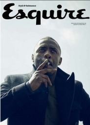 Idris Elba's ESQUIRE Cover: Talks Mandela and Possible Bond Role | James Bond Leadership Series - Shaken, Not Stirred | Scoop.it