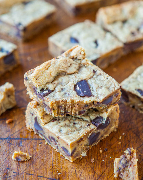 Peanut Butter Chocolate Chunk Cookie Bars | Emily's CE Project, Tea Party for Friends | Scoop.it