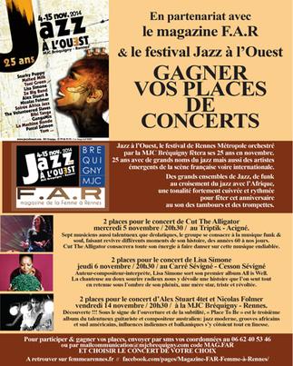 Jazz à l'ouest | | Jazzualités Rennes et alentours | Scoop.it