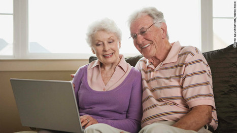Grandparents Get Tech Savvy to Keep in Touch   Seniors and Computers   Scoop.it