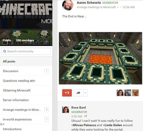 EVO Minecraft MOOC in a quest for the Ender Dragon | Learning2gether | Scoop.it