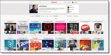 10 Strategic Ways to Optimize Your Pinterest Page - Infographic   Jeffbullas's Blog   content curation in education   Scoop.it
