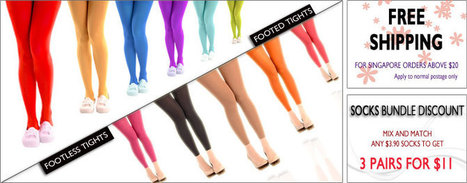 Citrusox –Buy Colored and Opaque Tights |Footed or Footless Tights | citrusox | Scoop.it