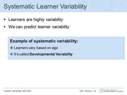 Video: Learner Variability and Universal Design for Learning | MSc Learning and Technology | Scoop.it