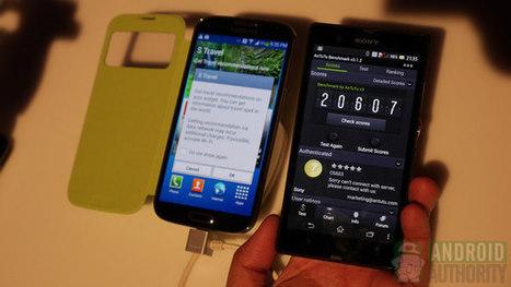 Samsung Galaxy S4 vs Sony Xperia Z | Mobile IT | Scoop.it