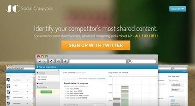 J'ai testé pour vous : Social Crawlytics   Stratégie web & Social Media -   Scoop.it