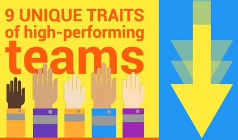 What Makes a Team Truly Great? 9 Defining Traits [Infographic] | Creativity in education | Scoop.it