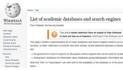 50 Buscadores y bases de datos académicas para educadores e investigadores.   Educar en la Sociedad del Conocimiento   Scoop.it