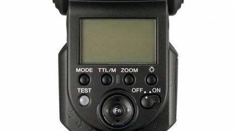 Sony HVL-F43AM Blitz - Wiederaufladezeit von 10 Sekunden   Camera News   Scoop.it