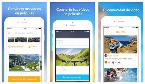 Actvt, una app para editar vídeos cortos de forma sencilla y gratuita | Aprendiendoaenseñar | Scoop.it