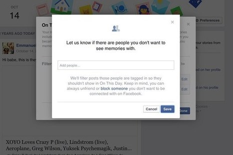 Facebook's 'On This Day' now lets you edit out bad memories (Wired UK) | Cyborg Lives | Scoop.it