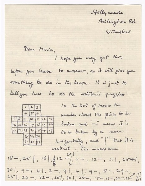 How Turing solved the enigma of Solitaire | this curious life | Scoop.it