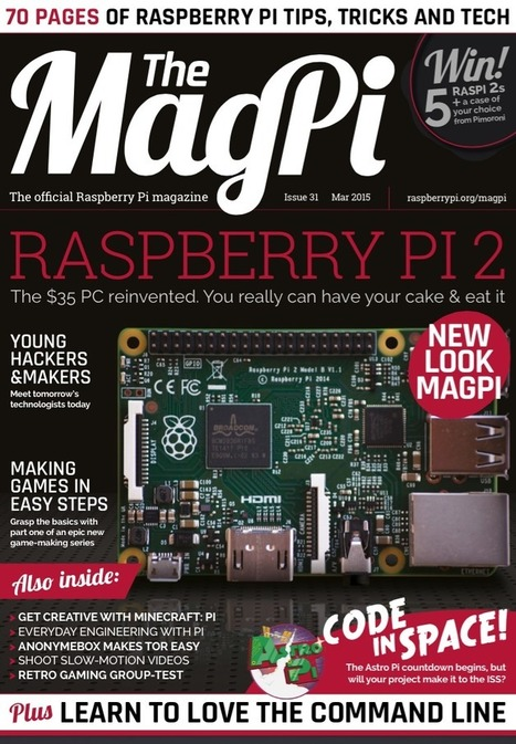 Welcome to the MagPi | Raspberry Pi | home automation | Scoop.it