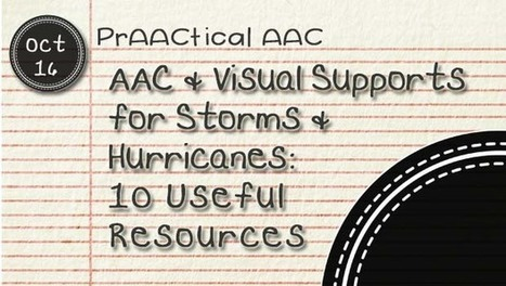 AAC and Visual Supports for Storms and Hurricanes: 10 Useful Resources | AAC: Augmentative and Alternative Communication | Scoop.it