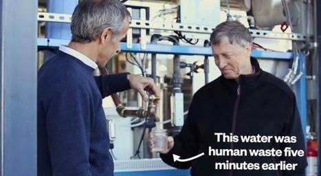 Quand Bill Gates utilise les déchets humains pour sauver le monde | Open Source Thinking | Scoop.it