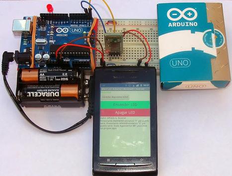 Encendido y apagado de un LED mediante una App propia | Electronica | Scoop.it
