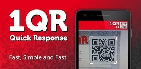 1QR – lector gratuito y rápido de códigos QR para terminales Android | Realidad Aumentada | Scoop.it