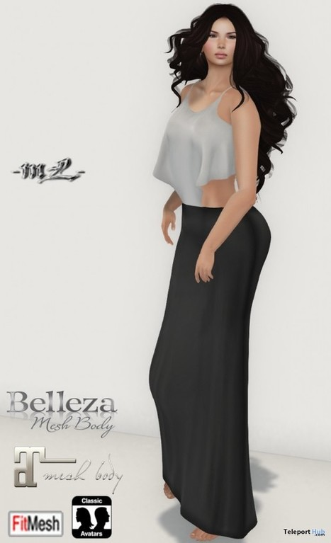 Stella Dress Teleport Hub Group Gift by monaLISA | Teleport Hub - Second Life Freebies | Second Life Freebies | Scoop.it