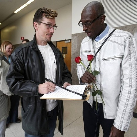 Michigan governor says state won't recognize same-sex marriages yet | Andrea Current Events Scrapbook | Scoop.it
