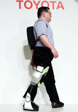 Toyota robotic technology aimed at helping patient's ambulate and rehab quicker | BlablaDoctor | Scoop.it