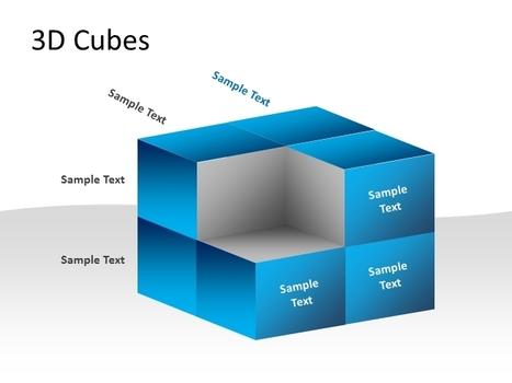 3D Cubes Template For PowerPoint.pptx | tech | Scoop.it