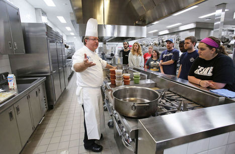 New MATC culinary facility aims to fill kitchens with new chefs | Curriculum and Higher Education | Scoop.it