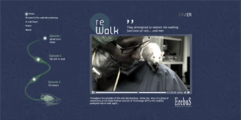 Project Rewalk - The webdocumentary | Interactive & Immersive Journalism | Scoop.it