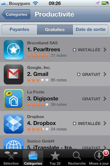 Pearltrees lance son application iPhone - TechCrunch | Le curateur | Scoop.it