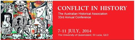 AHA 2014 - Australian Historical Association 33rd Annual Conference, 8-12 July 2014 | Professional learning | Scoop.it