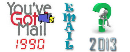 What Was Email Marketing In 1990 And What is Going To Be In 2013 ? | Sales in Today's World | Scoop.it