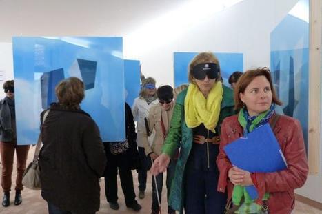 Cajarc. Art et déficience visuelle : une formation à la Maison des arts | La Maison des arts Georges Pompidou sur le Web | Scoop.it