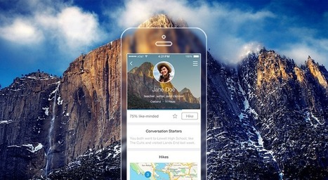 App lets hikers meet strangers to conquer mountains together | Serendipity | Scoop.it