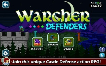 Warcher Defenders - Trigger special attacks to destroy the enemy hordes | Free Android Apps and games | Scoop.it