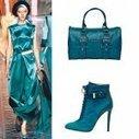 Le bleu canard, la couleur tendance de l'hiver 2013-2014! | Les petits hauts de la mode | Scoop.it