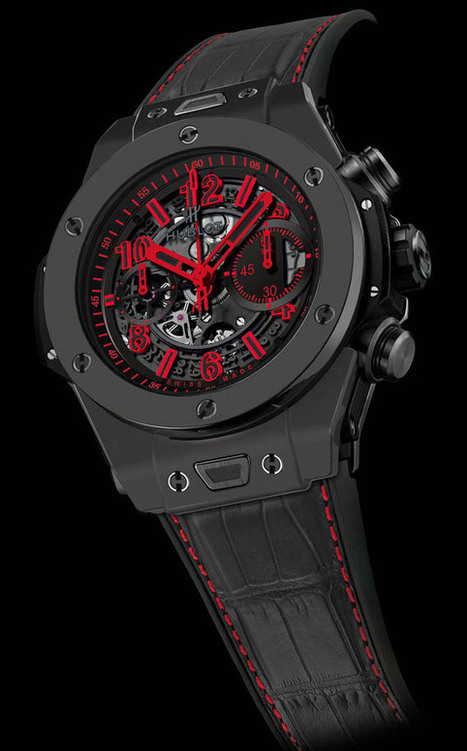 Hublot Big Bang Unico All Black | Montre, Horlogerie,Chronos | Scoop.it
