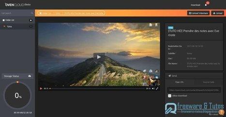OvenCloud : votre Media Center en ligne | l'enseignement d'économie gestion | Scoop.it