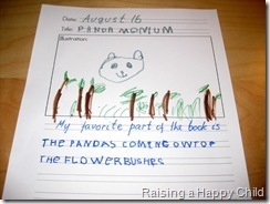 Mouse Grows, Mouse Learns: Reading Response Journal   Literacia no Jardim de Infância   Scoop.it